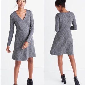 Madewell Long Sleeve Classic Dress